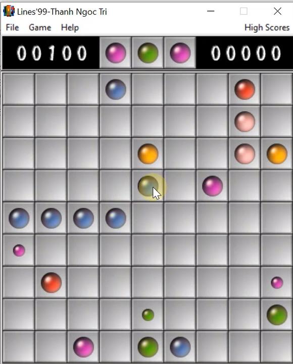 Tải game Line 98 cổ điển, màn hình rộng cho máy tính