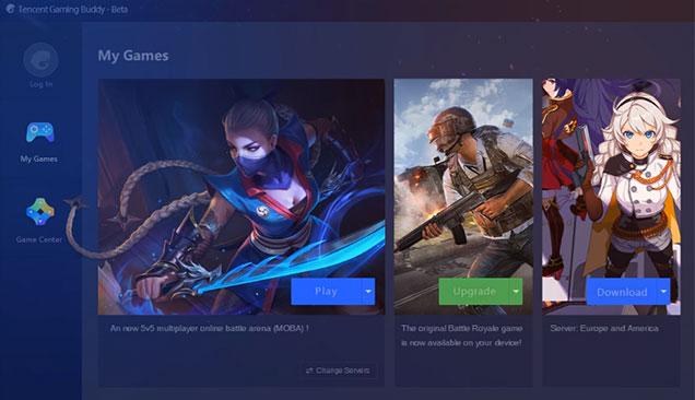 Tencent Gaming Buddy - Giả lập chơi PUBG Mobile, Free Fire