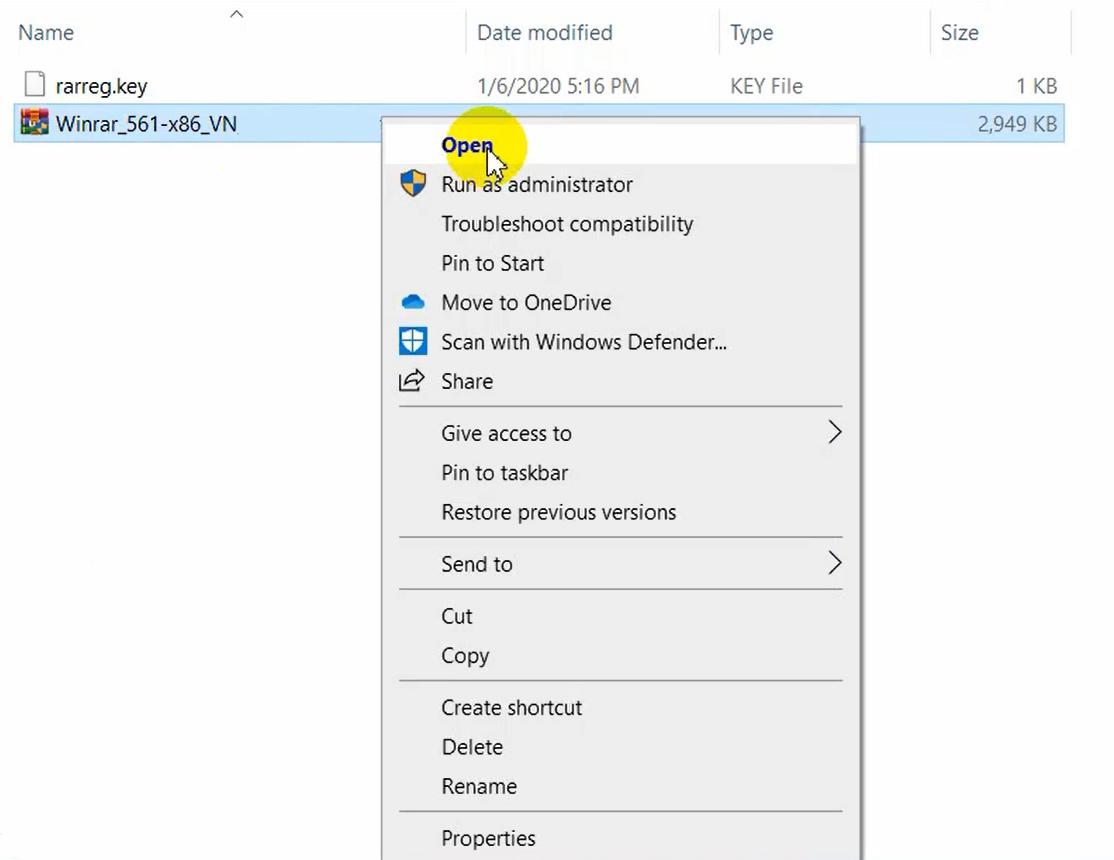 Tải và cài đặt WinRAR full crack 2021 32/64 bit Google Drive