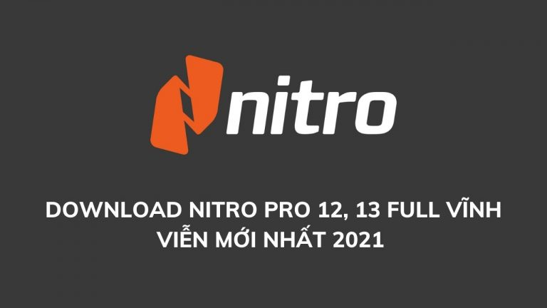 download nitro pro
