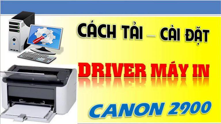 Driver Canon 2900